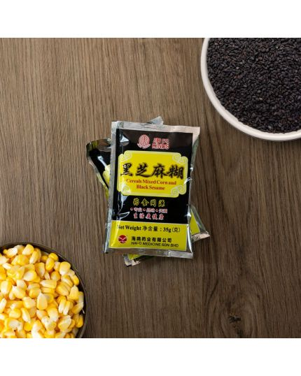 KINDS Cereals Mixed Corn And Black Sesame (35g x 8)