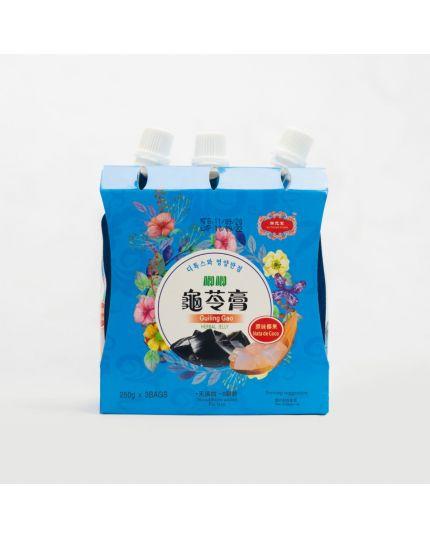 YU YUAN TANG Herbal Jelly (Original Nata De Coco, 3 x 250g)
