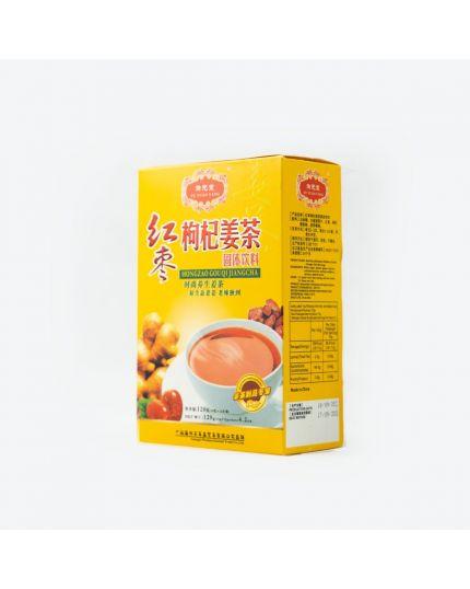 YU YUAN TANG Hongzao Gouqi Ginger Tea (12 bags x 10g)