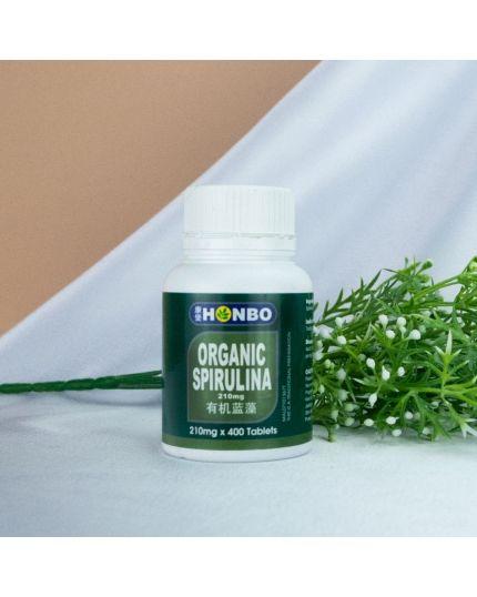 HONBO Organic Spirulina (400's)