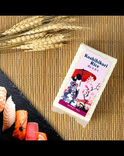 Koshihikari Rice (500g)