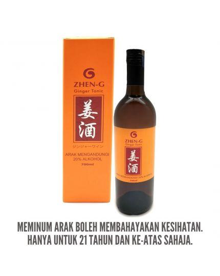 ZHEN-G Ginger Tonic (700ml)