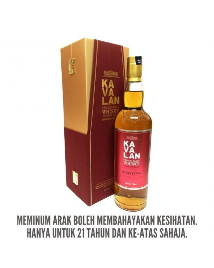KAVALAN Sherry Oak Single Malt Whisky (700ml)