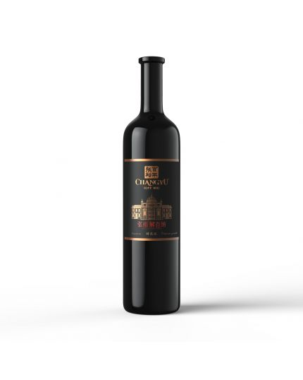 CHANGYU Noble Dragon Reserve Cabernet Gernischt Dry Red Wine - Black Gold (750ml)