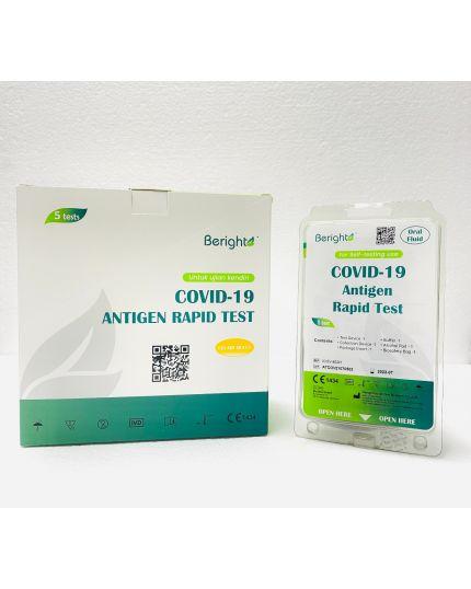 BERIGHT COVID-19 Saliva Antigen Rapid Test Kit