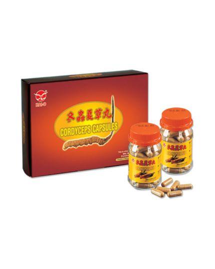 HAI-O Cordyceps Capsules Gift Pack (60'S X 2)