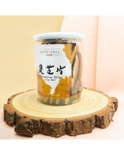 BEN'S HALL Ganoderma Slice (Ling Zhi) (50g)