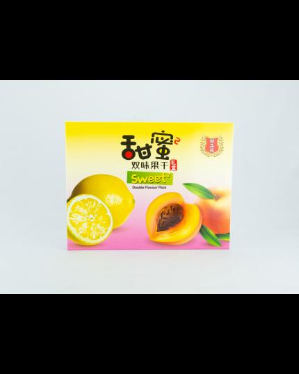 YPD Dried Peach And Dried Honey Lemon Slice (50G x 2'S)
