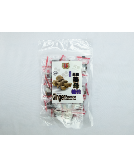 YPD Instant Ginger Essence Brown Sugar Cube (130g)