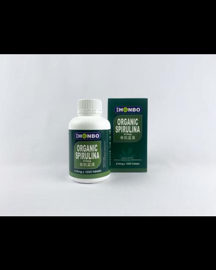 HONBO Organic Spirulina (1000's)