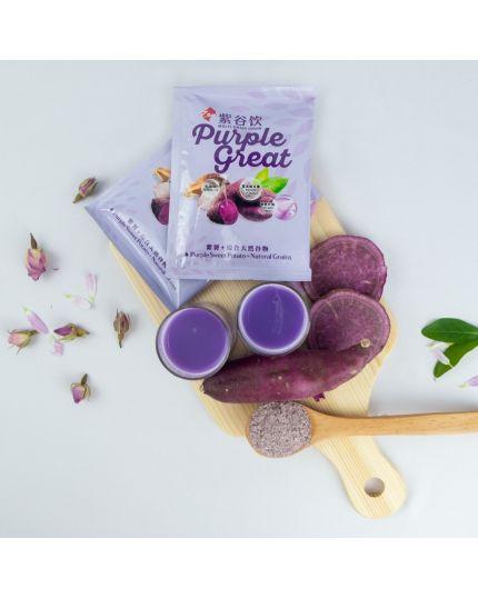 ZAN Purple Great Multi-Grain Cereal (16's)